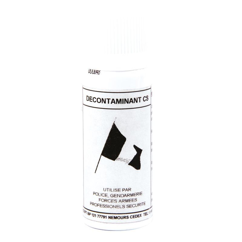 DECONTAMINANT VAPORISATEUR GAZ ET GEL CS SPRAY 50ML