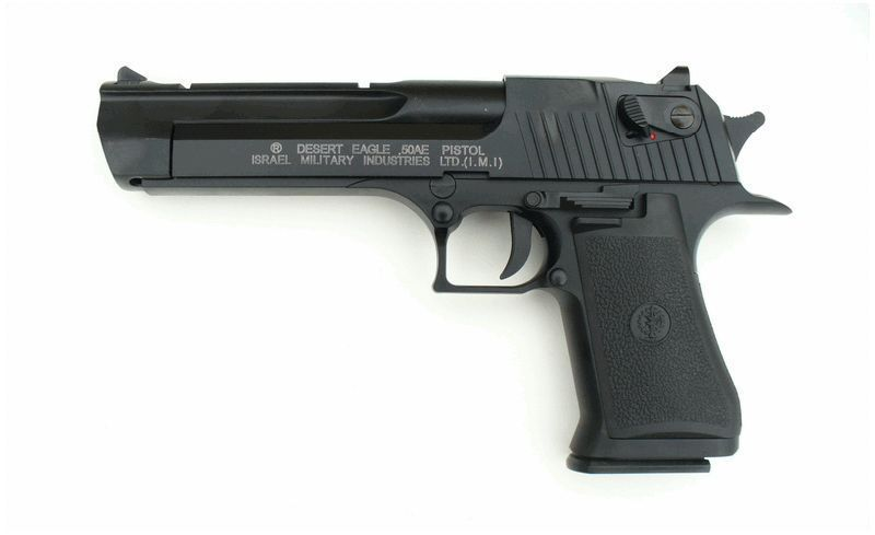 DESERT EAGLE 50AE SEMI CULASSE METAL BLOWBACK