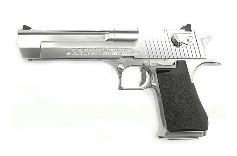 DESERT EAGLE CHROME GAZ BLOWBACK MARUI
