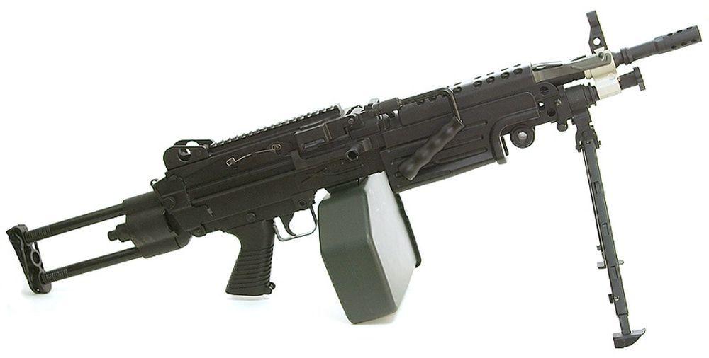 FN M249 PARA - METAL 1,2J LIVREE AVEC AMOBOX