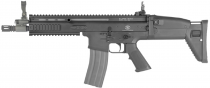 FN SCAR-L Noir AEG airsoft 6mm ABS avec batterie et chargeur 1,3 Joules