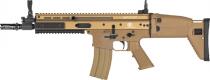 FN SCAR-L Tan AEG airsoft 6mm ABS avec batterie et chargeur 1,3 Joules