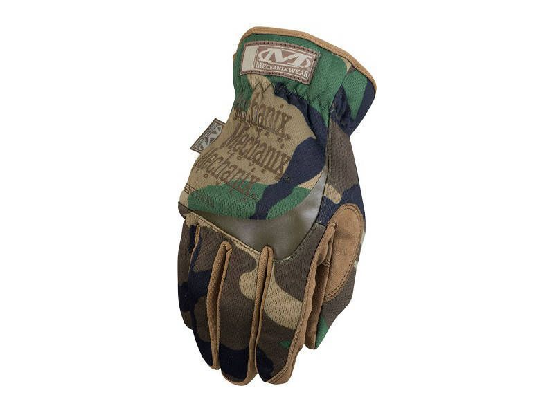 Gants Mechanix Fast-Fit Woodland