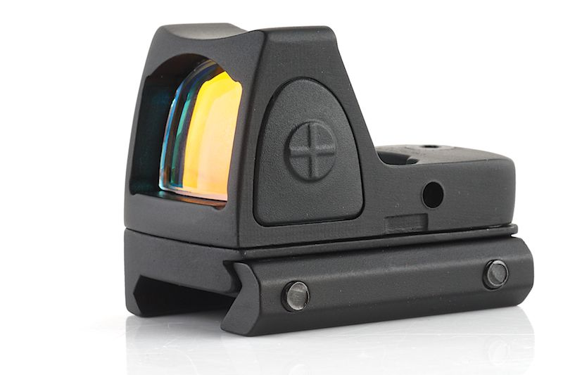 GK TACTICAL ADJUSTABLE MICRO RED DOT NOIR POINT ROUGE
