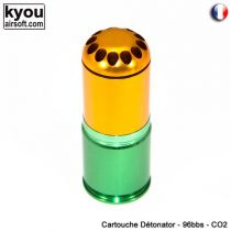 GRENADE 40 MM DETONATOR 96 BBS CO2 OU GAZ