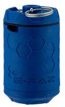 Grenade Airsoft Rotative E-RAZ gaz 100bbs bleue