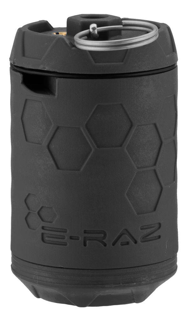 Grenade Airsoft Rotative E-RAZ gaz 100bbs grise