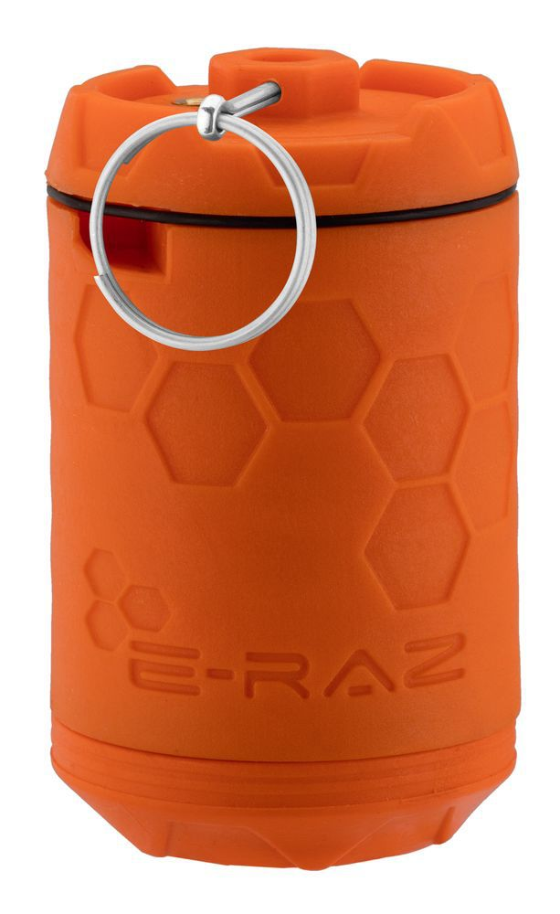 Grenade Airsoft Rotative E-RAZ gaz 100bbs orange