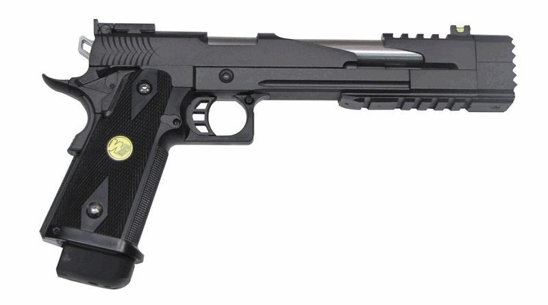 HI-CAPA BLACK DRAGON 7.0 VERSION B NOIR GBB