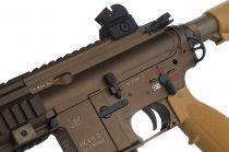 HK 416 TAN AVEC RALLONGE DE CANON POUR HK416 CARABINE
