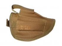 Holster de ceinture universel Swiss Arms Airsoft Tan