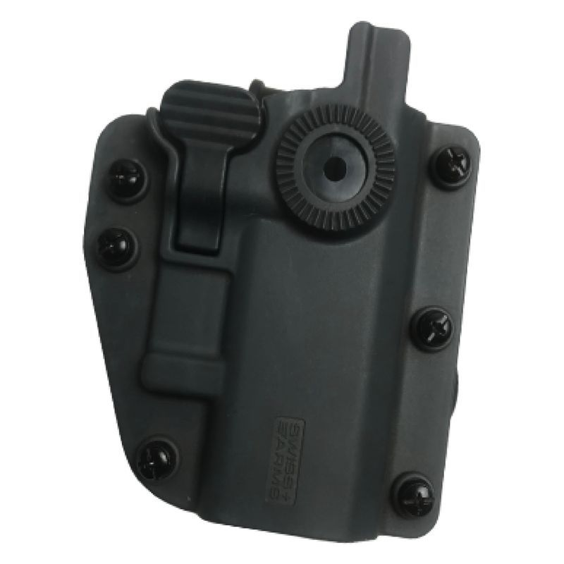 Holster Polymere ADAPT-X ambidextre réglable Battle Grey