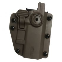 Holster Polymere ADAPT-X ambidextre réglable Tan