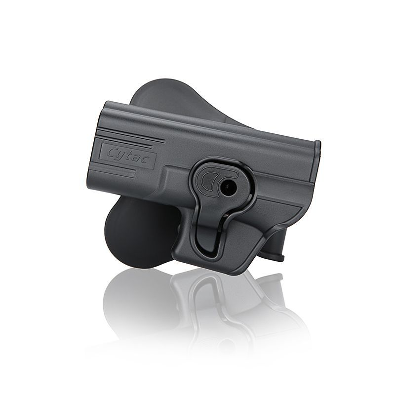 HOLSTER POLYMERE GAUCHER POUR GLOCK 19 - 23 - 32