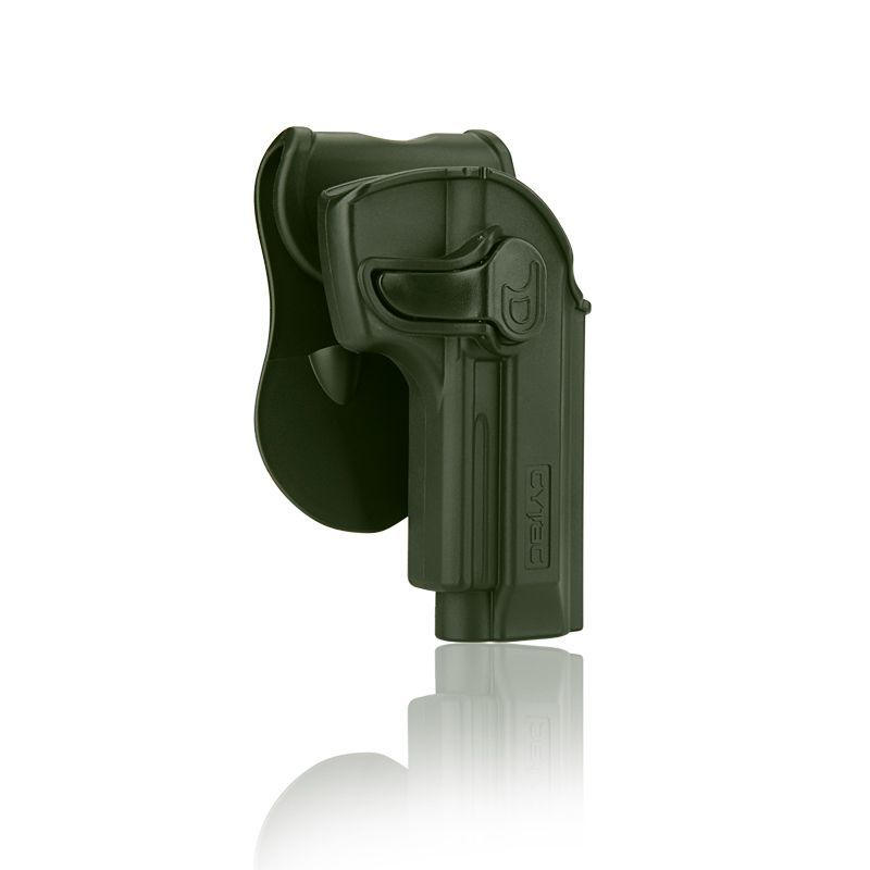 HOLSTER POLYMERE POUR BERETTA 92 92FS COULEUR OD