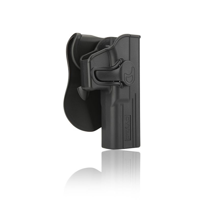 HOLSTER POLYMERE POUR GLOCK 17 22 31 GEN 1-2-3-4