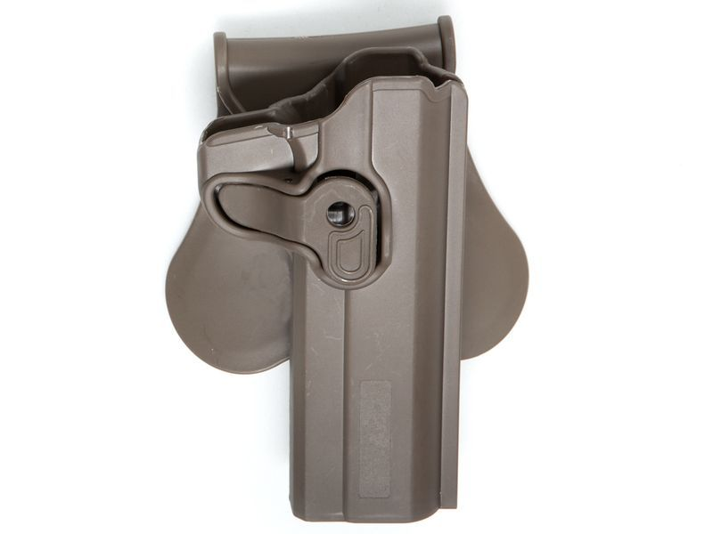 HOLSTER POLYMERE TAN POUR 1911 MODELS - DROITIER