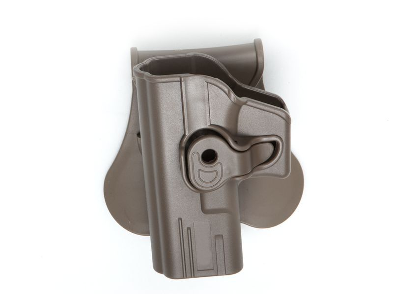 HOLSTER POLYMERE TAN POUR G MODELS - GAUCHER
