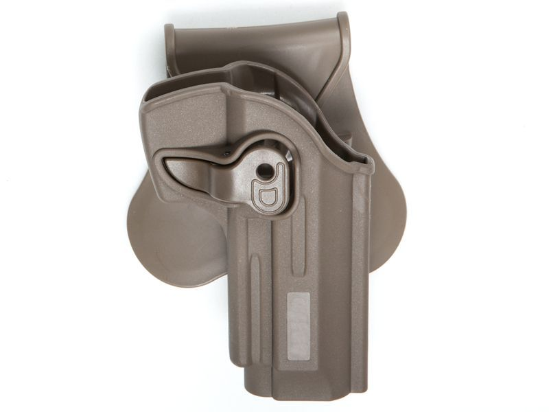 HOLSTER POLYMERE TAN POUR M92 MODELS - DROITIER