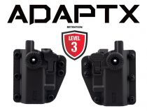 Holster Swiss Arms Polymere ADAPT-X Level 2 ambidextre réglable Noir
