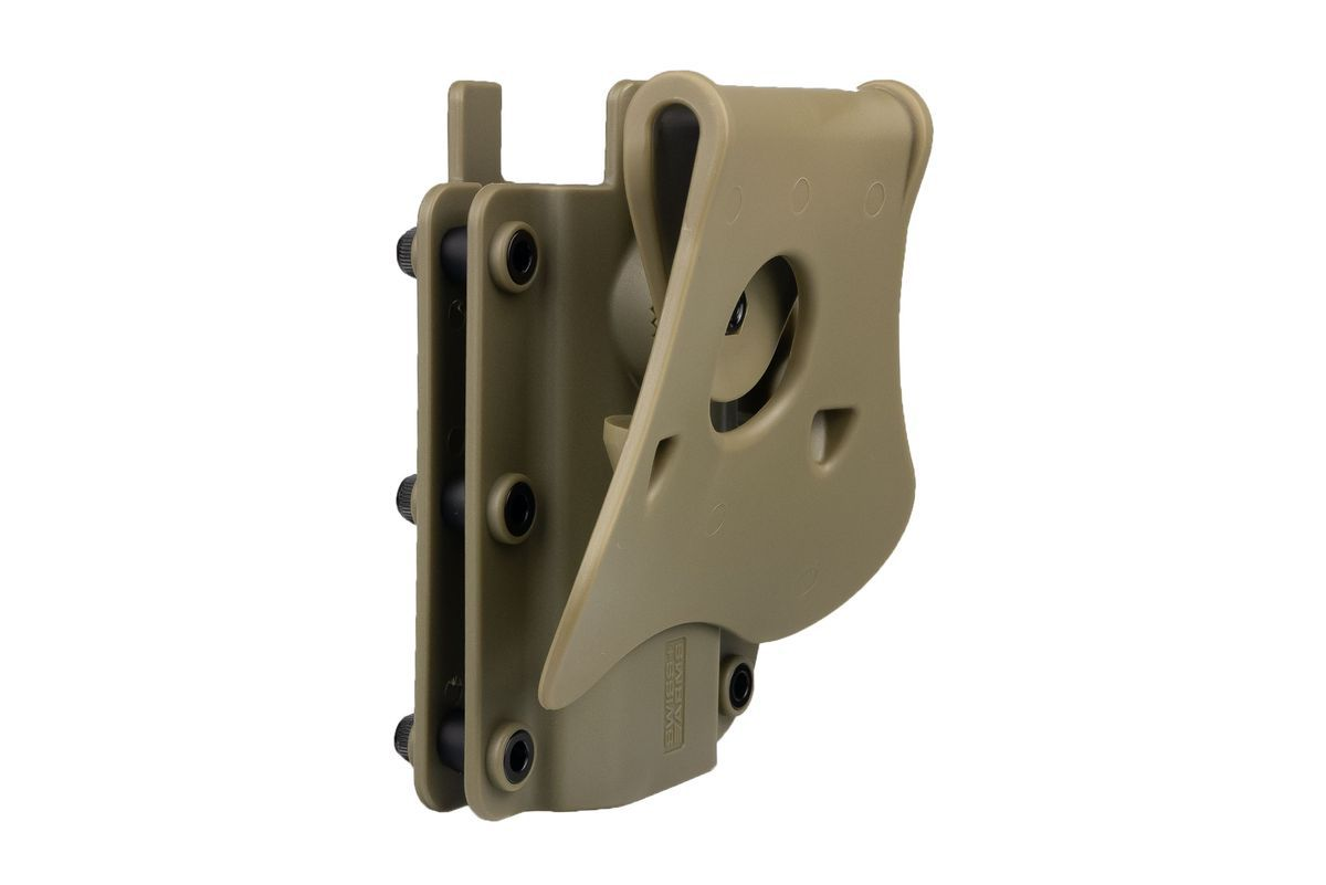Holster Swiss Arms Polymere ADAPT-X Level 2 ambidextre réglable Ranger Green