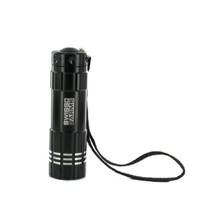 LAMPE LED FLASHLIGHT SWISS ARMS NOIRE