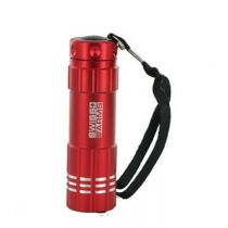 LAMPE LED FLASHLIGHT SWISS ARMS ROUGE