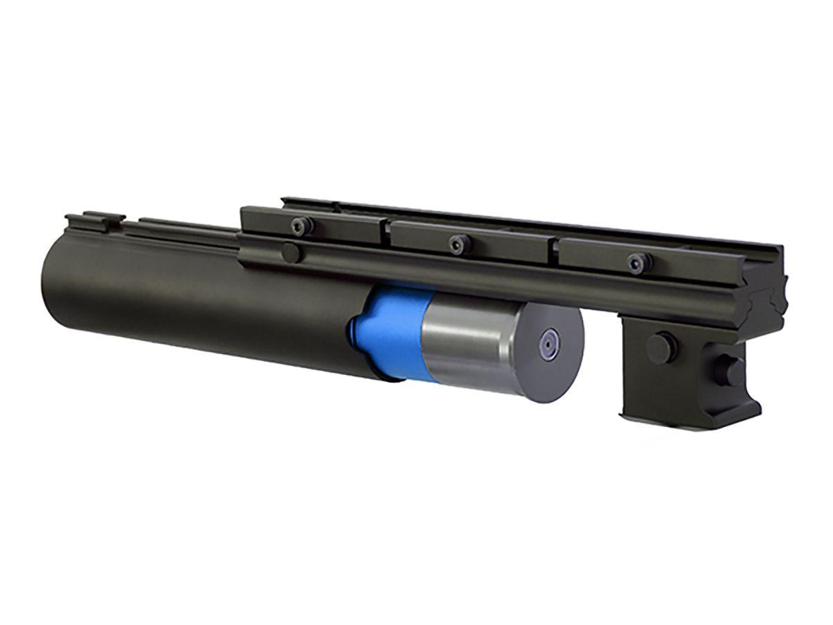 Lance-grenades long noir full métal 40 mm