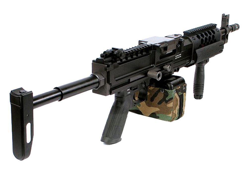LMG LIGHT MACHINE GUN FULL METAL CLASSIC ARMY