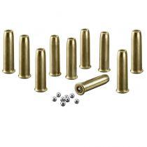 Lot de 10 douilles pour Legends Cowboy Rifle Umarex Billes acier 4,5 mm