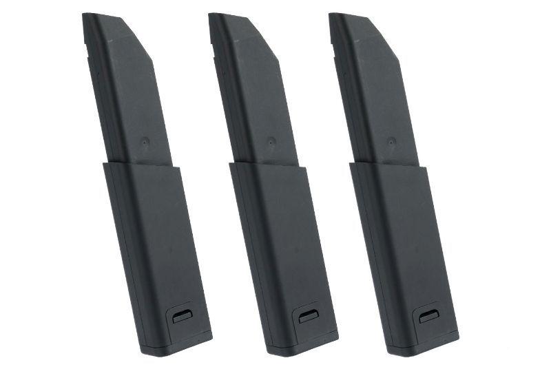 Lot de 3 chargeurs Mid-Cap 95 Billes pour Kriss Vector KRYTAC Airsoft