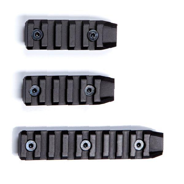 Lot de 3 rails Keymod 2X5 Slots et 1X9 Slots ASG Airsoft
