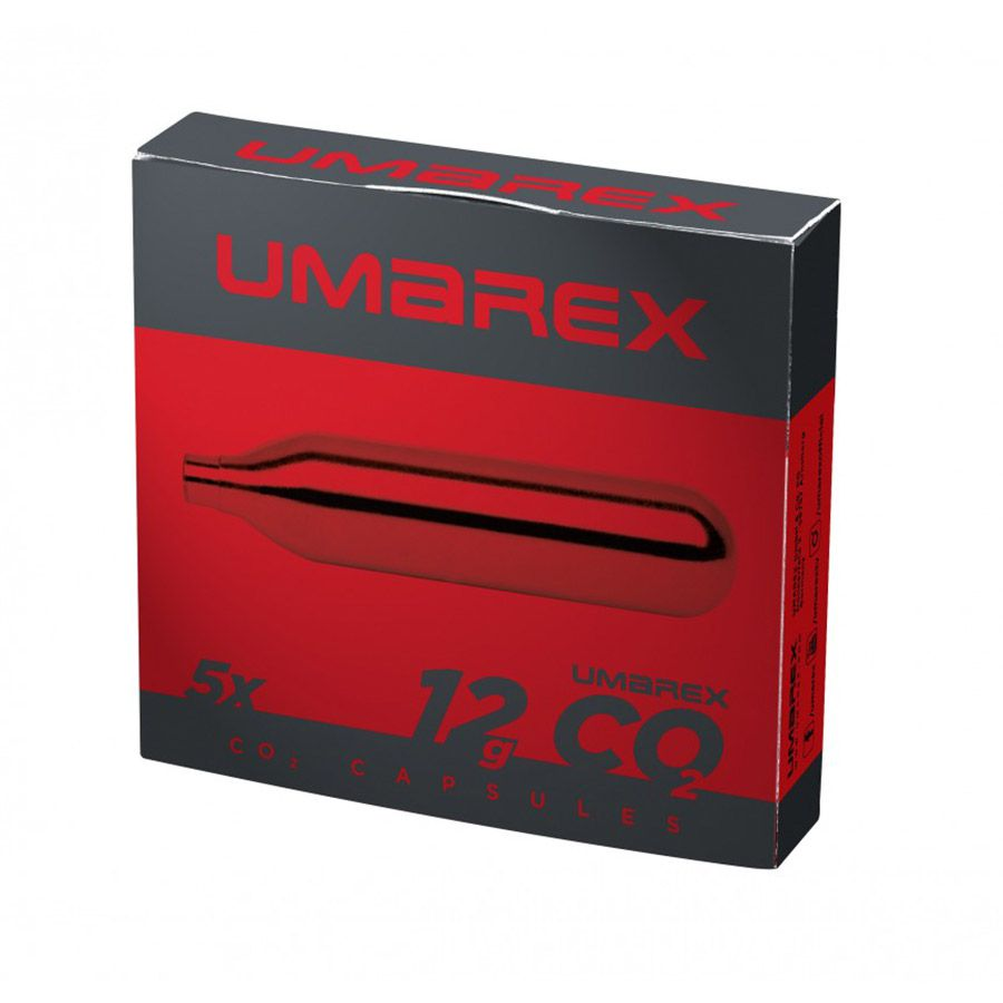 Lot de 5 cartouches de C02 12g Umarex
