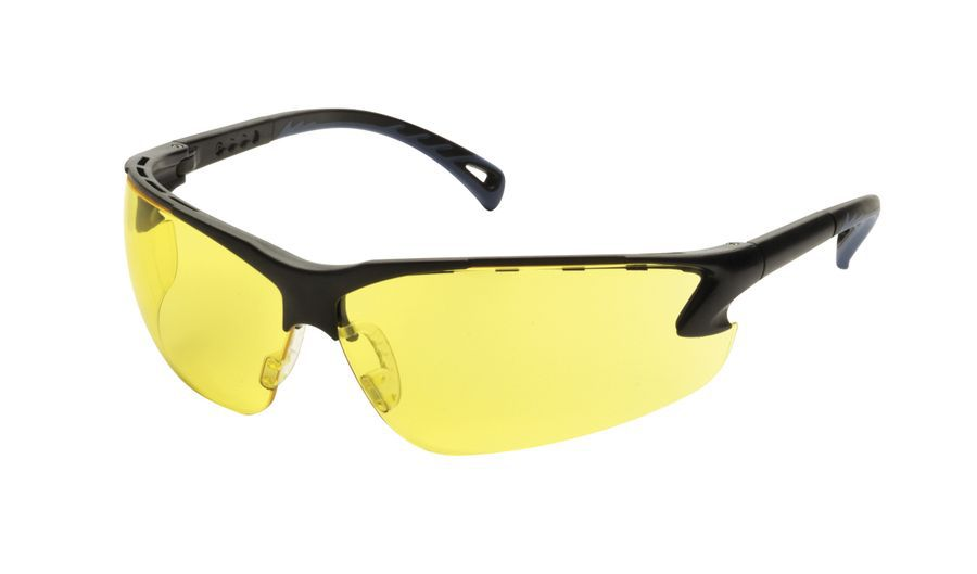 LUNETTE DE PROTECTION AJUSTABLE JAUNE ASG