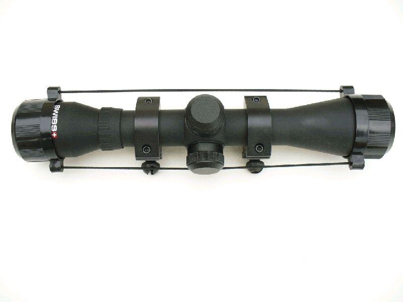 LUNETTE DE VISEE 4 X 32 SWISS ARMS + ANNEAUX DE MONTAGE