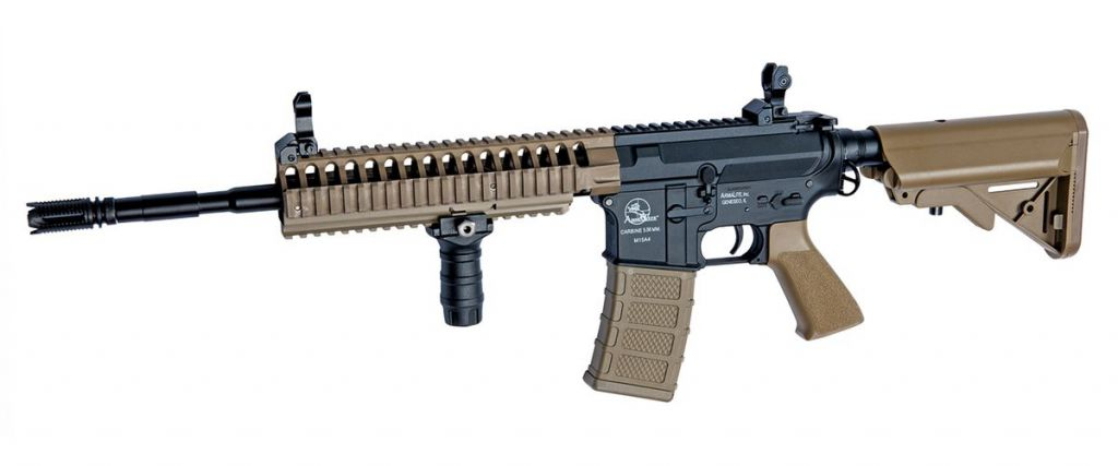 M15 Ranger Armalite couleur tan Airsoft