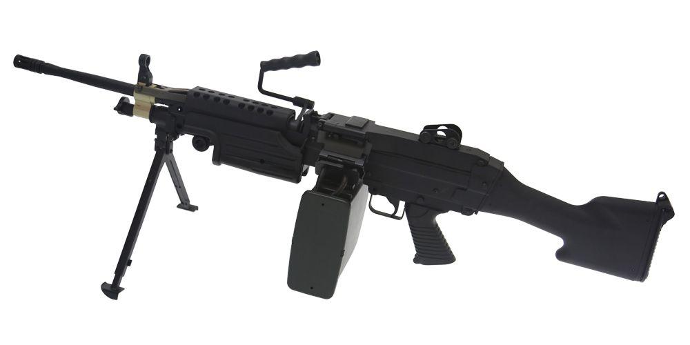 M249  MK2 A&K- METAL 1.2J NOIRE