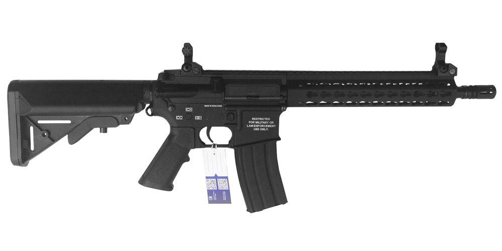 M4 MK-10 KEYMOD FULL METAL NOIR CLASSIC ARMY AEG