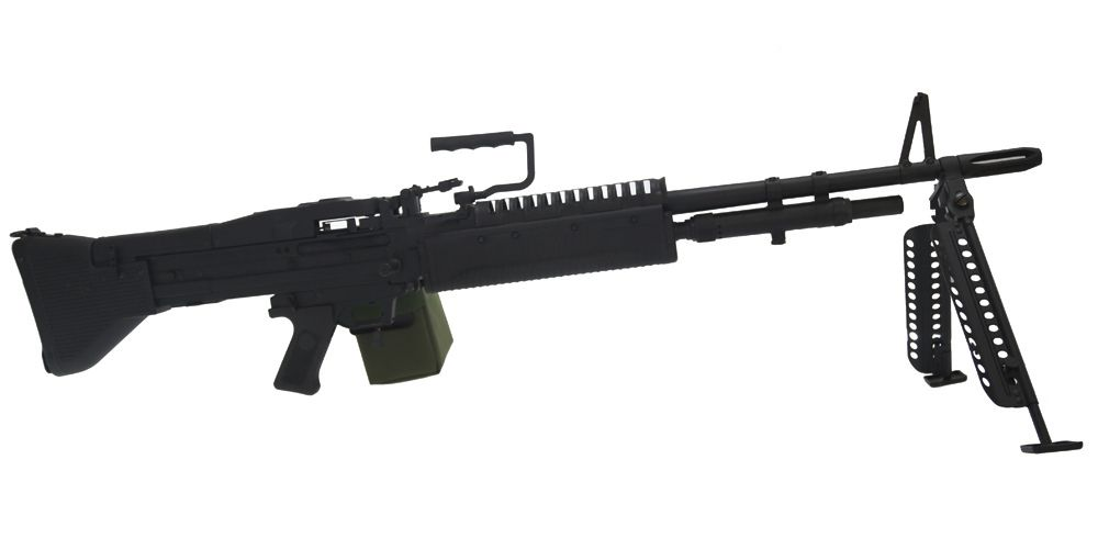 M60 vietnam A&k noire full métal