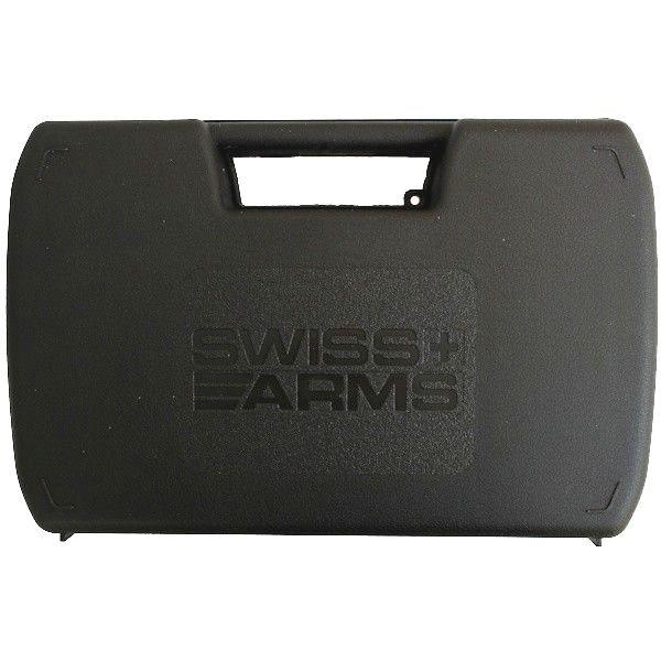 MALLETTE SWISS ARMS NOIRE TAILLE 31 X 20 X 6.5 CM