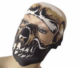 MASQUE NEOPRENE INTEGRAL DEAD FACE