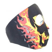 MASQUE NEOPRENE INTEGRAL FIRE SKULL
