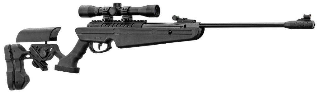 Pack Carabine à Plombs Break Barrel QUANTICO Noir Cal.4,5mm + lunette 4x32