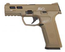 Pistolet a gaz GBB MS XAE Tan Blowback