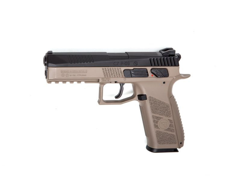 PISTOLET A PLOMB CZ P-09 DT-F CALIBRE 4.5 CO2 BLOWBACK