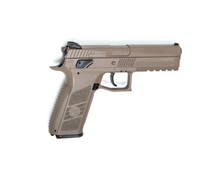 PISTOLET A PLOMB CZ P-09 FDE CALIBRE 4.5 CO2 BLOWBACK