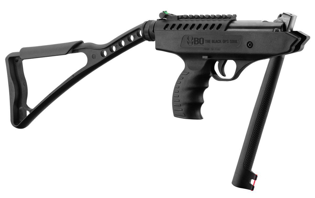 Pistolet à Plombs Break Barrel LANGLEY Pro Sniper Noir Cal.4,5mm