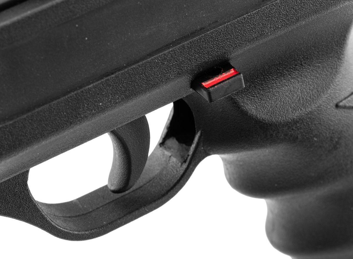 Pistolet à Plombs Break Barrel LANGLEY Silencer Noir Cal.5,5mm