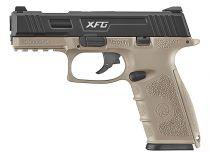 Pistolet BLE XFG GBB ICS Gaz Blowback Dual Tone Noir et Tan