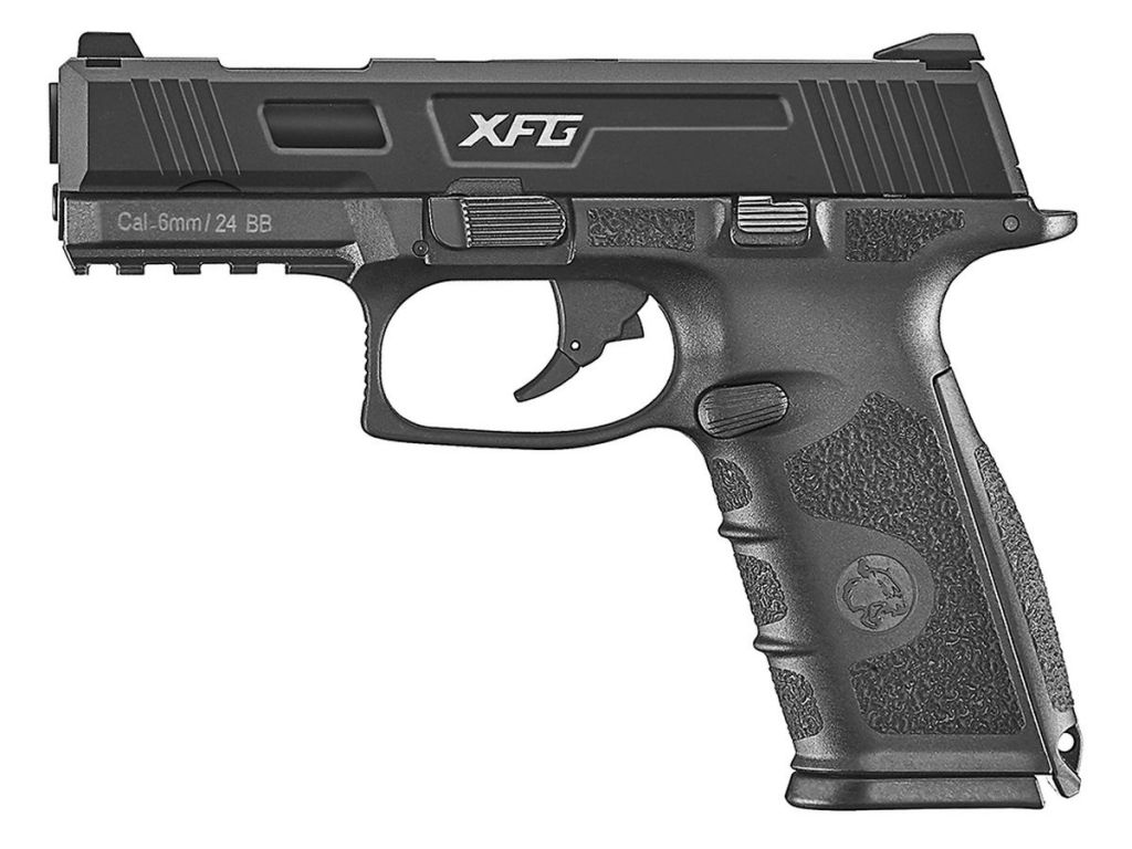 Pistolet BLE XFG GBB ICS Gaz Blowback Noir